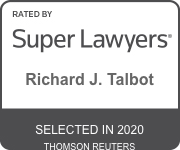 Richard J. Talbot Super Lawyers 2020